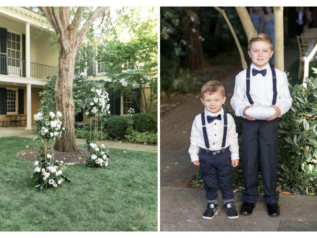 ring bearers at taft museum of art