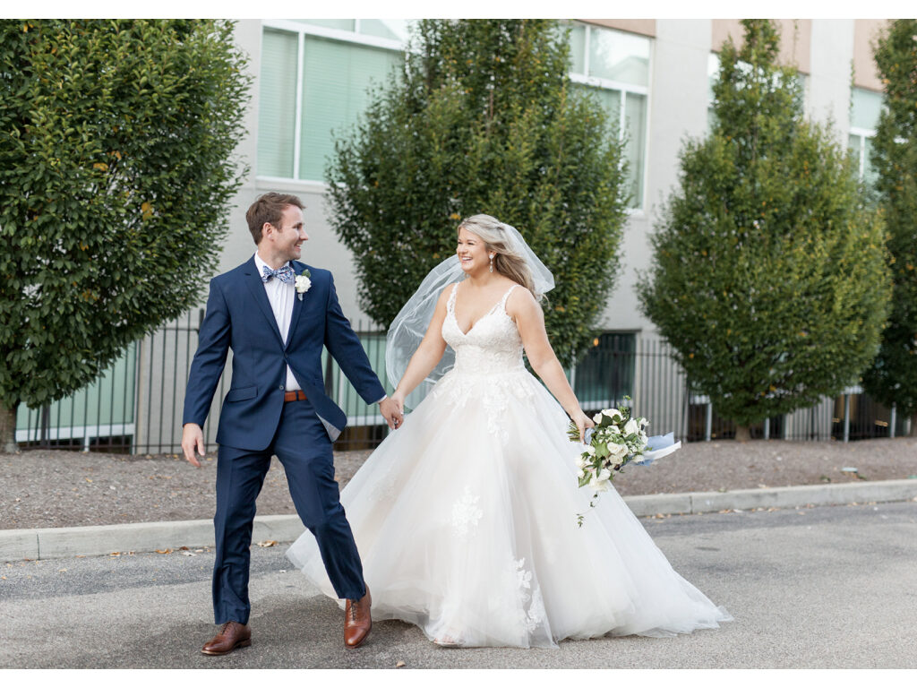 cincinnati ohio bride and groom