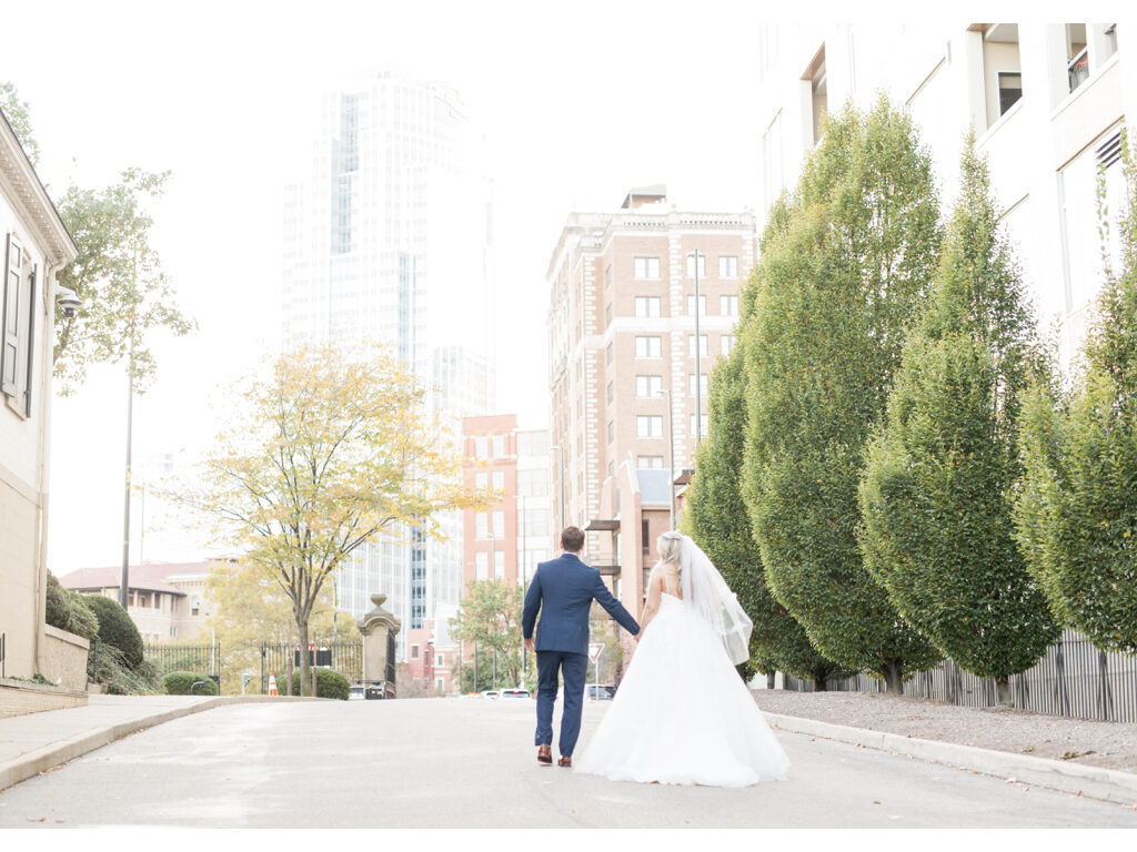 downtown cincinnati wedding